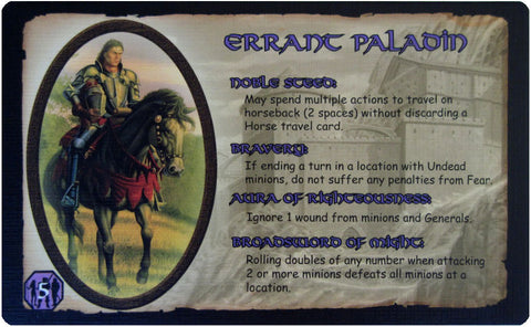 Defenders of the Realm: The Errant Paladin (Card Only)