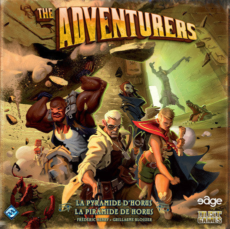 The Adventurers: The Pyramid of Horus (French)