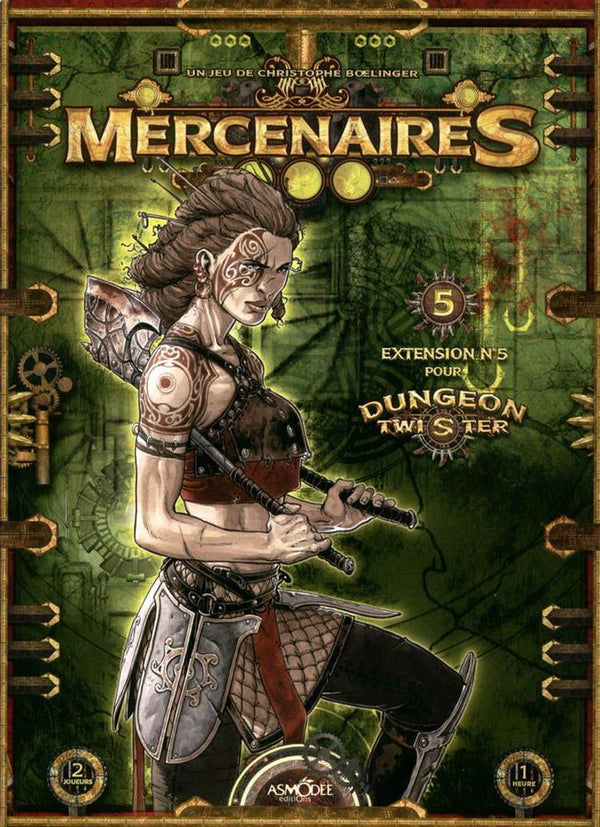 Dungeon Twister: Mercenaries (French)