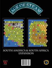 Age of Steam Expansion: South America / South Africa