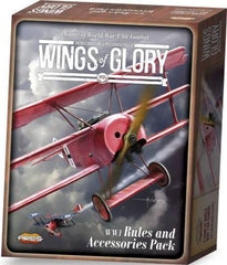 Wings of Glory: WW1 Rules and Accessories Pack (French)