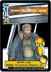 Sentinels of the Multiverse: The Scholar Hero Character
