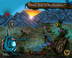 Dawn: Rise of the Occulites (Base Set with 3 Expansions) (Painted)