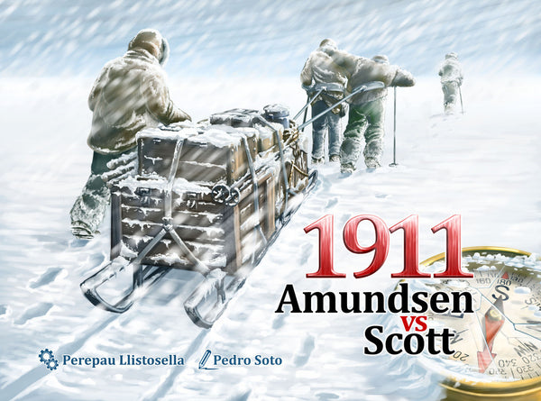 1911 Amundsen vs Scott (Import)