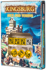 Kingsburg: Dice and Tokens (Yellow)