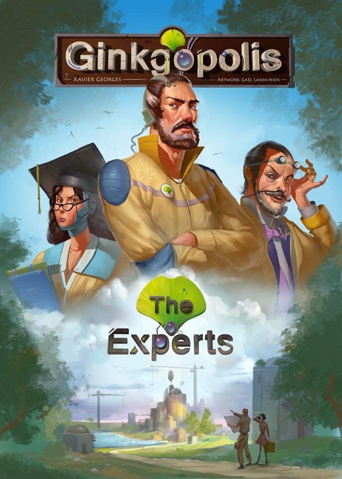 Ginkgopolis: The Experts (French)