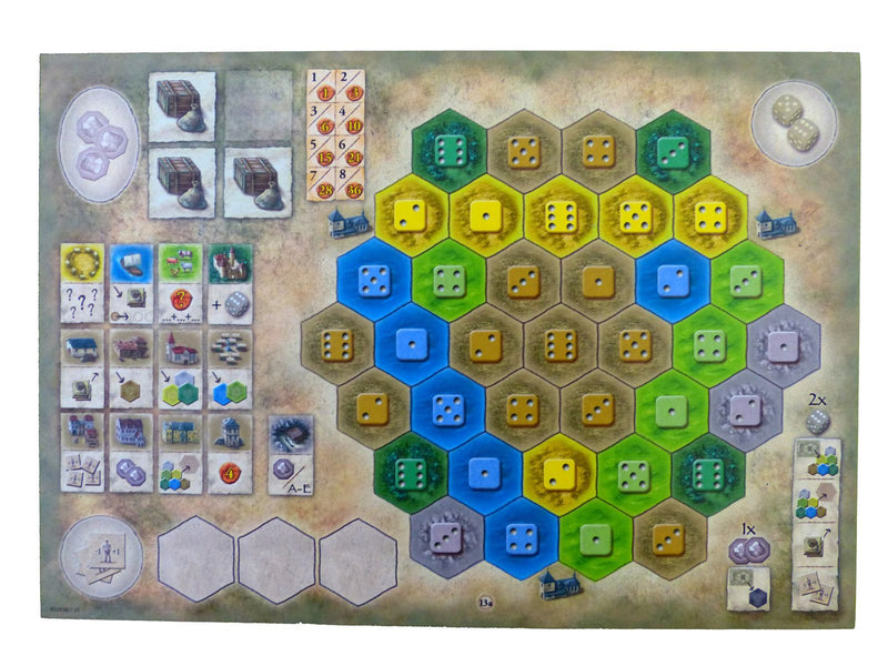 The Castles of Burgundy: 4th Expansion - Monastery Boards