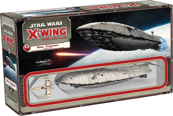 Star Wars: X-Wing Miniatures Game - Rebel Transport Expansion Pack