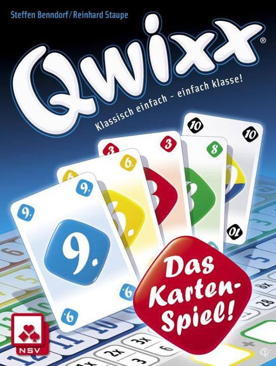 Qwixx: Das Kartenspiel (German Import)
