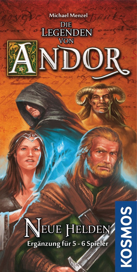 Legends of Andor: New Heroes (German Import)