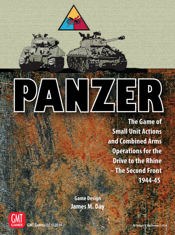 Panzer: Game Expansion Set, Nr3 - Drive to the Rhine - The Second Front 1944-45