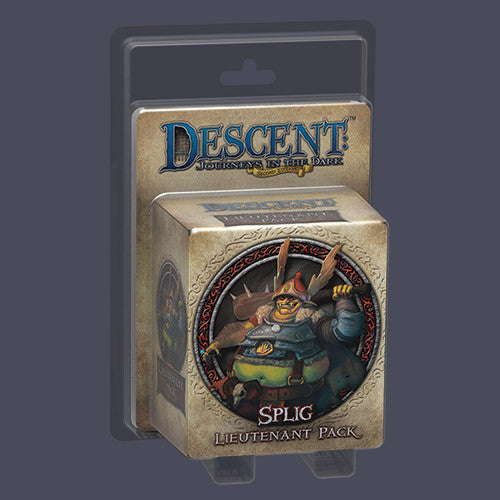 Descent: Journeys in the Dark (Second Edition) - Splig Lieutenant Pack