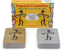 Perpetual Commotion Silver & Gold Edition Cards