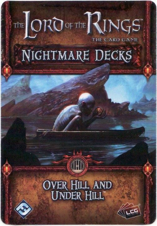 The Lord of the Rings: The Card Game - Nightmare Decks: Over Hill and Under Hill