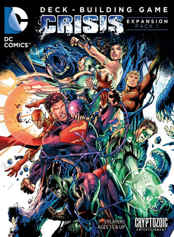 DC Comics Deck-Building Game: Crisis Expansion (Pack 1)