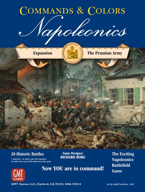 Commands & Colors: Napoleonics Expansion #4 - The Prussian Army