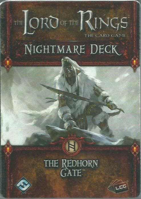 The Lord of the Rings: The Card Game - Nightmare Deck: The Redhorn Gate