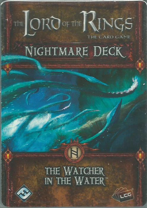 The Lord of the Rings: The Card Game - Nightmare Deck: The Watcher in the Water