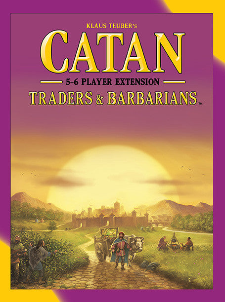 Catan: Traders & Barbarians - 5-6 Player Extension (Fifth Edition)