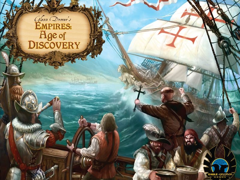 Glenn Drover's Empires: Age of Discovery - Deluxe Edition with Metal Coins