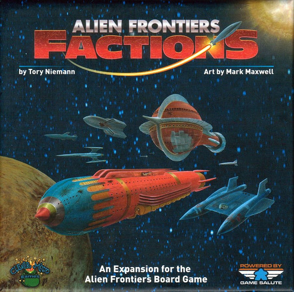Alien Frontiers: Factions (2nd Edition)
