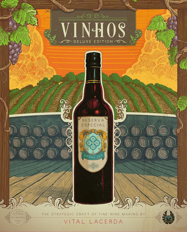 Vinhos Deluxe Edition (Base game without stretch goals)