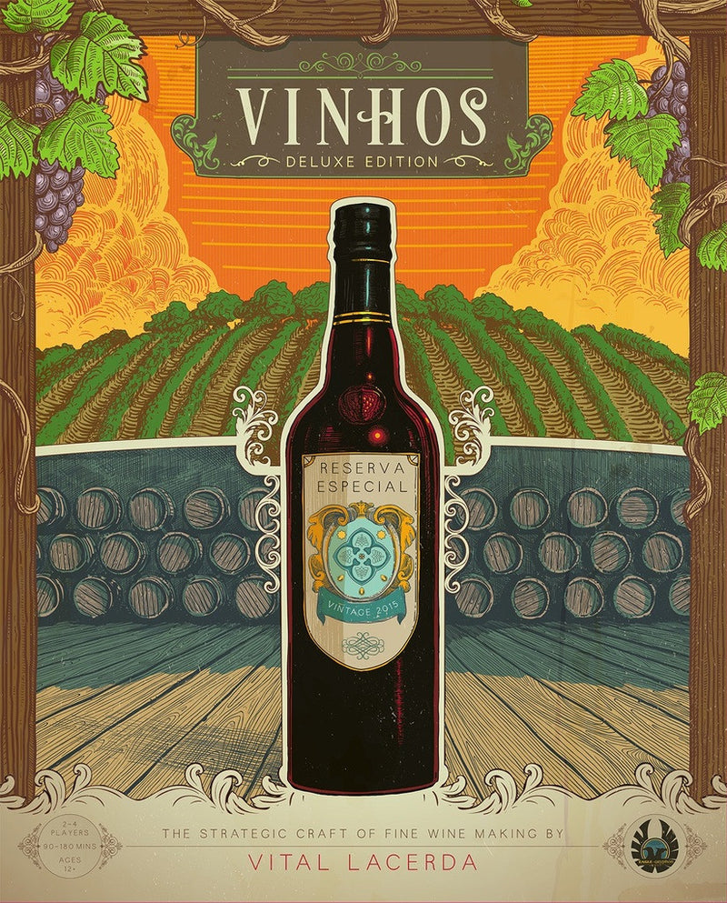 Vinhos Deluxe Limited Edition (with all KS stretch goals components)