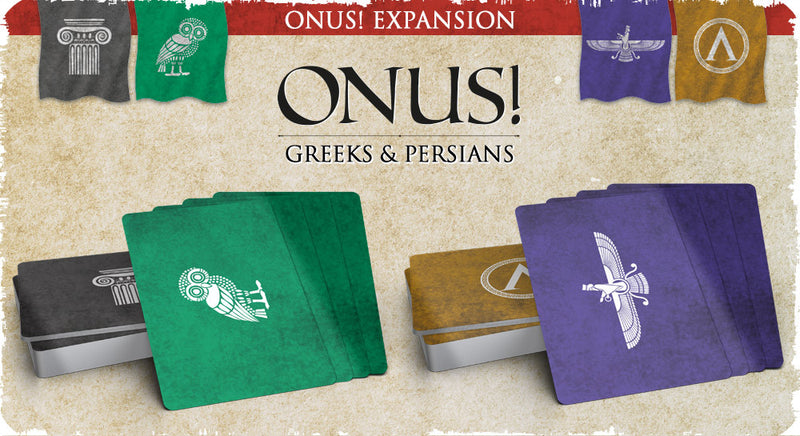 ONUS! Greeks & Persians