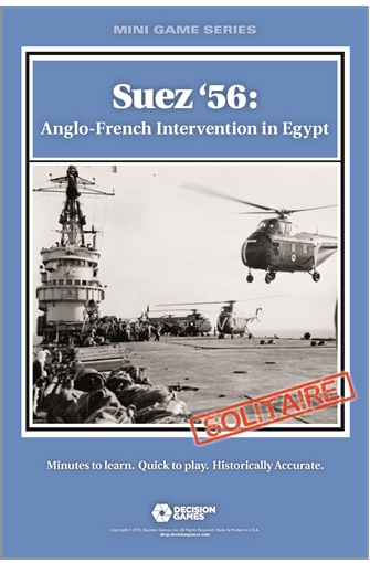 Suez '56: Anglo French Intervention in Egypt *PRE-ORDER*