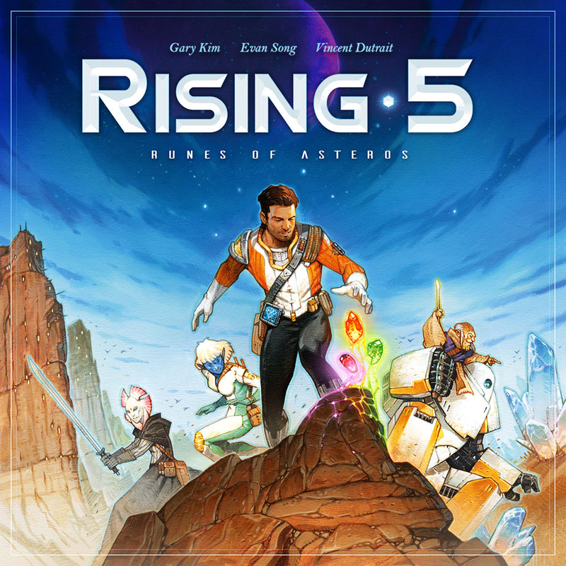 Rising 5: Runes of Asteros (Grey Fox Games Edition)
