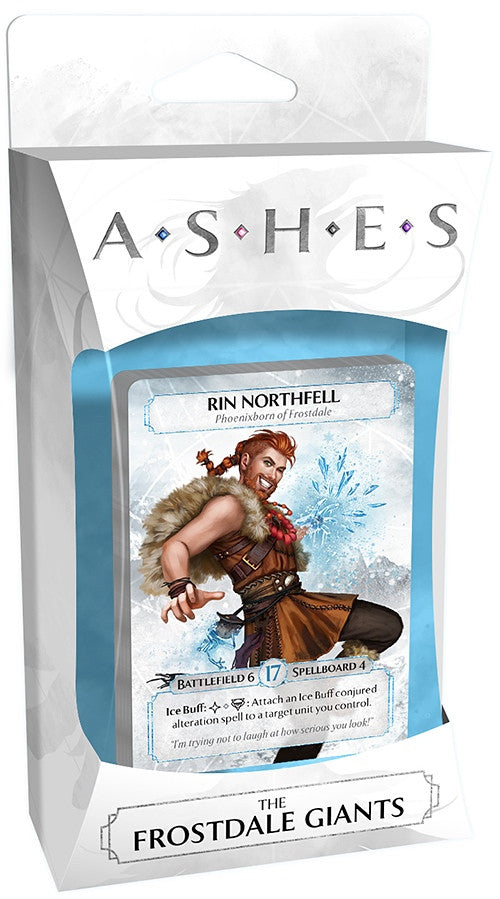 Ashes: Rise of the Phoenixborn - The Frostdale Giants