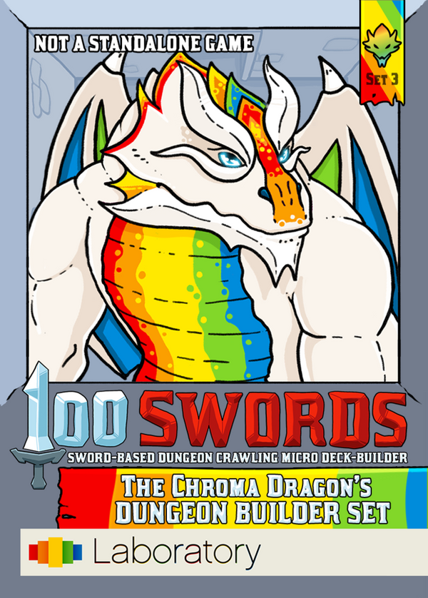 100 Swords: The Chroma Dragon's Dungeon Builder Set
