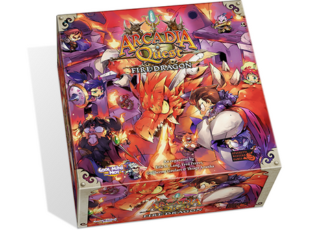 Arcadia Quest: Fire Dragon *PRE-ORDER*