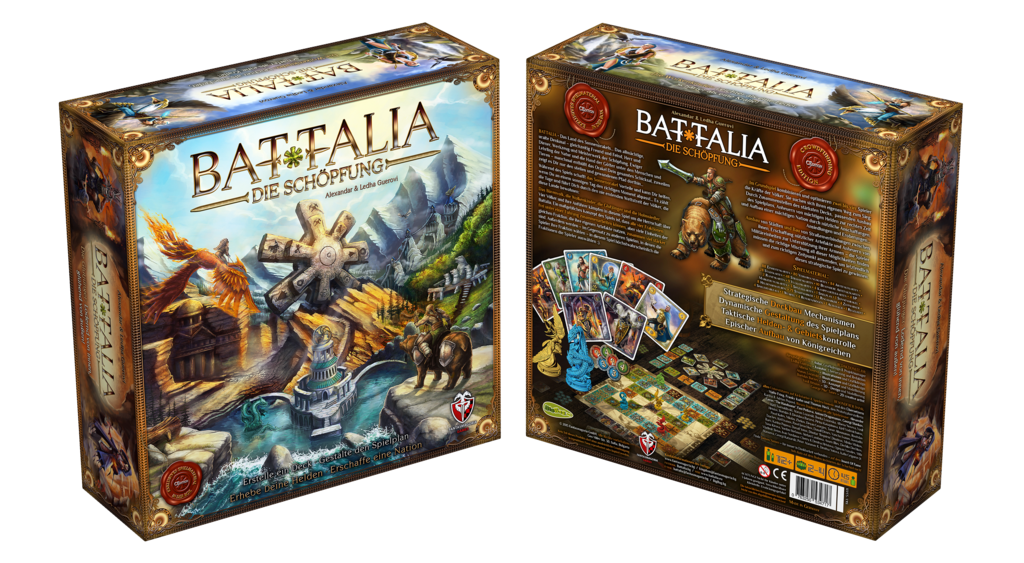 773d0f42e3a8 Buy BATTALIA  The Creation (German Import) – BoardGameBliss Inc ...