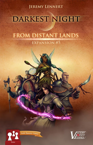 Darkest Night Promo Pack: From Distant Lands