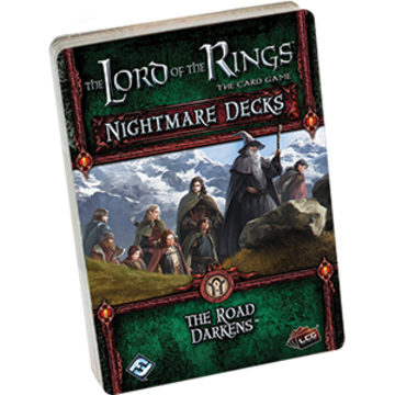 The Lord of the Rings: The Card Game - Nightmare Decks: The Road Darkens