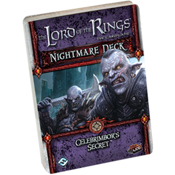 The Lord of the Rings: The Card Game - Nightmare Deck: Celebrimbor's Secret