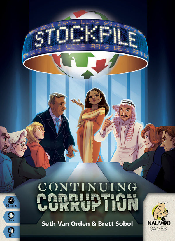Stockpile: Continuing Corruption (Includes KS Promos)