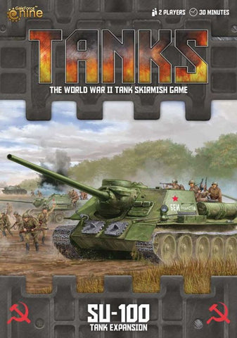 Tanks: Soviet SU-100 Tank Expansion