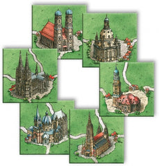 Carcassonne: Cathedrals in Germany (Import)