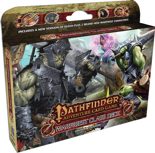 Pathfinder Adventure Card Game: Class Deck - Warpriest