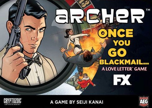 Archer: Once You Go Blackmail... (Clamshell Edition)