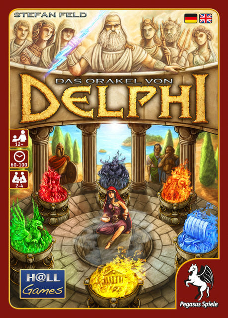Image result for oracle of delphi board game