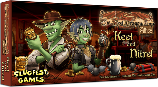 The Red Dragon Inn: Allies - Keet and Nitrel