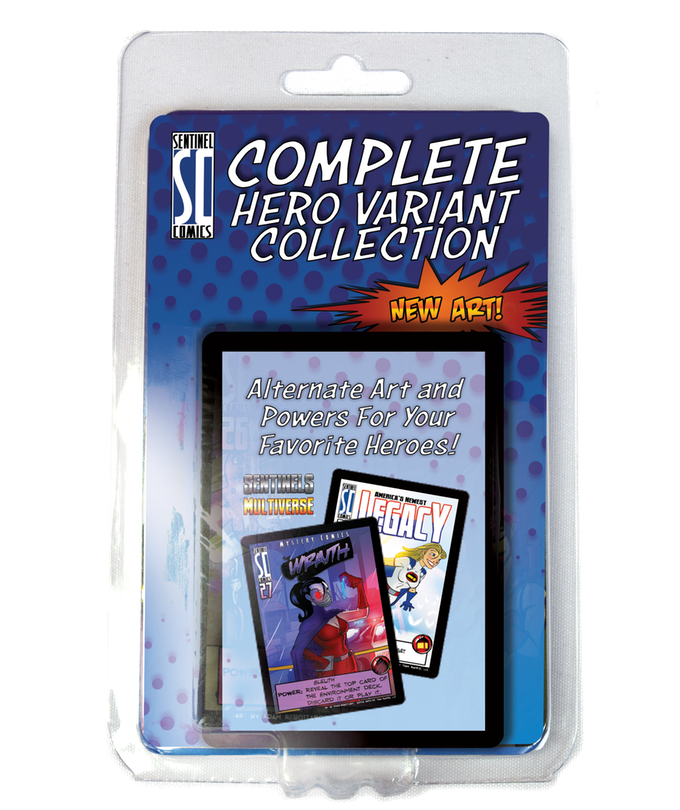 Sentinels of the Multiverse: 5th Anniversary Foil Hero Collection