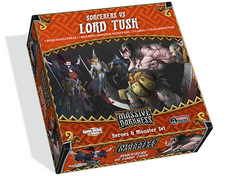 Massive Darkness: Heroes & Monster Set - Sorcerers vs Lord Tusk