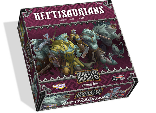 Massive Darkness: Enemy Box - Reptisaurians