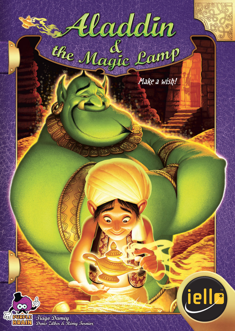 Tales & Games: Aladdin & The Magic Lamp