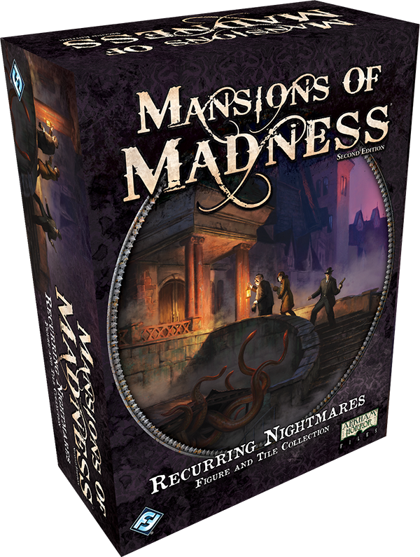 Mansions of Madness: Second Edition - Recurring Nightmares Figure and Tile Collection