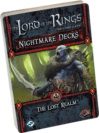The Lord of the Rings: The Card Game - Nightmare Deck: The Lost Realm